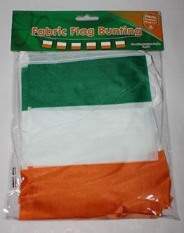 5 Meter FLAGGENGIRLANDE - IRLAND - SAINT PATRICK`S DAY - 1