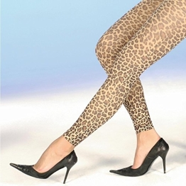 7/8 Leggings Leoparden-Design - 1