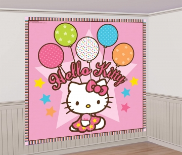 Hello Kitty Wandposter Amscan.