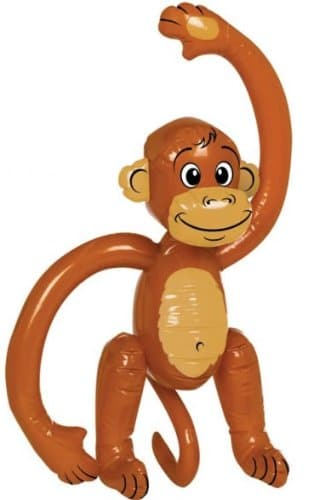 Affe, aufblasbar, 60 cm - 2