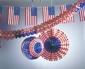 Amerikanisches Flair mit dem Deko-Set USA - 1