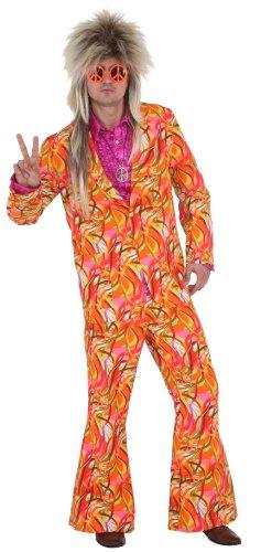 Anzug bunter Wirbel pink-bunt - 1