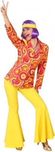 Anzug Crazy orange-gelb : Jacke und Hose - 1
