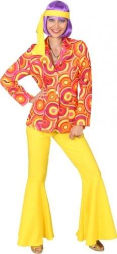 Anzug Crazy orange-gelb : Jacke und Hose - 3