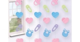 Baby-Deckenhänger: verschiedene Motive, 210 cm, 6er-Pack - 2