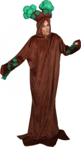 Baum-Kostüm: Kleid mit Kapuze, Einheitsgröße - 1