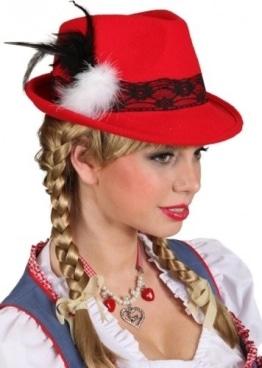 Bayernhut Lady, rot - 1