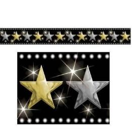 Bordüre, Hollywood-Sterne, 45 x 1220 cm - 1