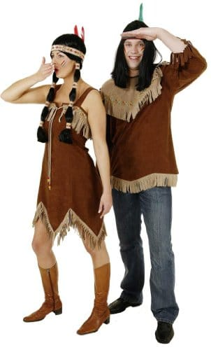 braunes Indianerhemd - 1