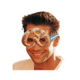 Brille: Brezel-Form, Kunststoff - 1