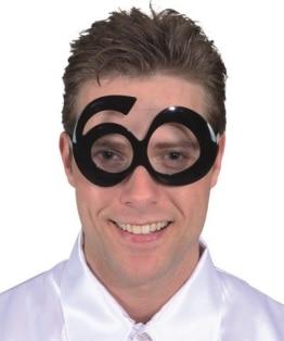 Brille: Brille mit Jahreszahl 60 - 1
