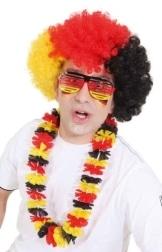 Brille: Deutschland-Brille, schwarz-rot-gold - 1