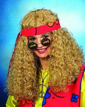 """Brille: Hippie-Brille mit Aufdruck """"Love"""" - 2"""
