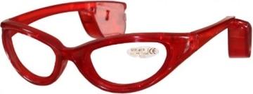 Brille: Party-Brille, beleuchtet, rot - 3