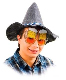 Brille: Party-Brille, Biergläserform - 1