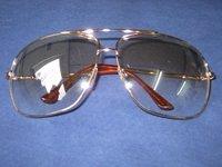Brille: Party-Brille, große Gläser - 1