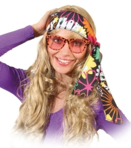 Brille: Party-Brille, Smiley, orange - 1