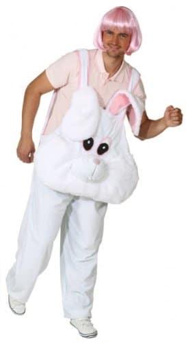 Bunny Boy : Latzhose mit Kopf - 1