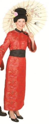 Chinesin : Kleid und Gürtel - 1