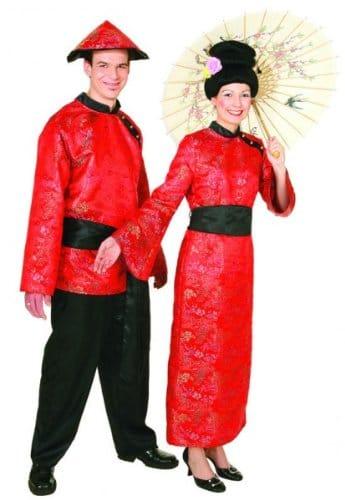 Chinesin : Kleid und Gürtel - 2