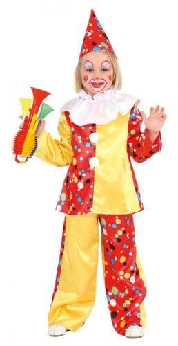 Clownanzug mit Hut - 1