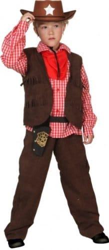 Cowboy Lucky braun - 1