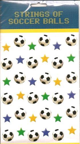 Deckenhänger: Fußball-Vorhang, 2 m lang, 6er-Pack - 1
