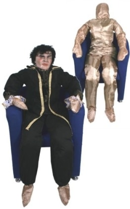 Deko-Figur: lebensgroße Puppe, Textil, befüllbar - 1
