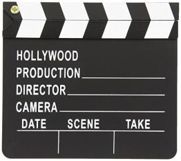 Deko: Filmklappe, 18 x 20 cm - 1