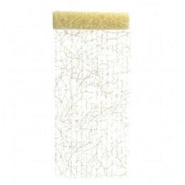 Deko-Sisal, sandfarben, 15 m, 17 cm breit - 1