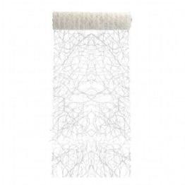 Deko-Sisal, weiß, 15 m, 17 cm breit – Tischläufer - 1
