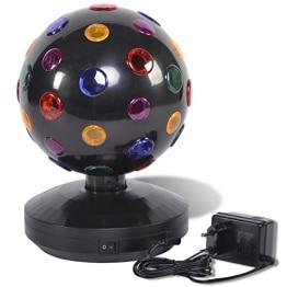 Disco-Licht: Disco-Leuchte mit verschiedenen Lichtfarben, schwarz, 270 x 185 mm - 1