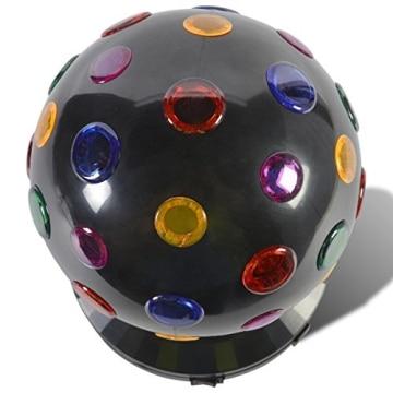 Disco-Licht: Disco-Leuchte mit verschiedenen Lichtfarben, schwarz, 270 x 185 mm - 2