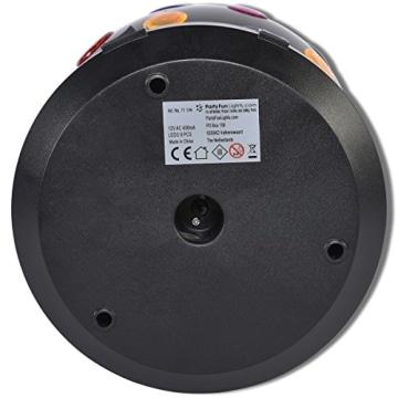 Disco-Licht: Disco-Leuchte mit verschiedenen Lichtfarben, schwarz, 270 x 185 mm - 3