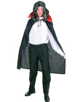 Dracula-Umhang: schönes Vampir-Kostüm - 1