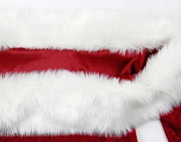 EA Selection Damen Weihnachts Kostuem Rolle Kleid Abendkleid Tanzkleid Rot/Weiss XL -