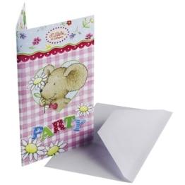 """Einladungen: Einladungskarten mit Umschlag, """"Lillebi Flowers"""", 6er-Pack - 1"""