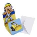 Einladungskarten, Bob der Baumeister, 6er-Pack - 2