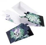 """Einladungskarten, Motiv """"gruselige Totenkopf-Party"""", 6 Stück - 1"""