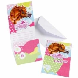 """Einladungskarten, Motiv """"Pferdehof"""", 6 Stück - 1"""