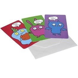 "Einladungskarten, Motiv ""Ugly Dolls"", 6 Stück - 1"