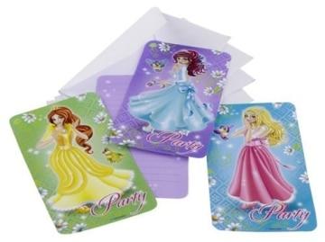 Einladungskarten, Prinzessin, 6er-Pack - 1