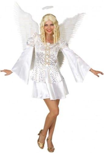 Engel – Kleid mit goldenen Sternen - 3