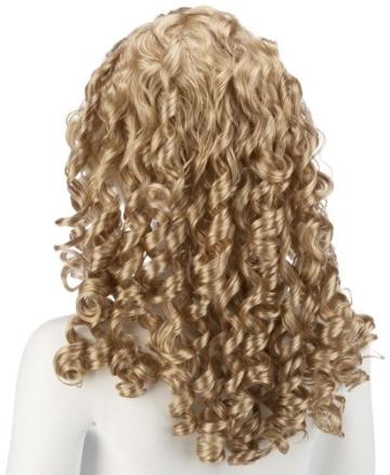 Engel: Perücke, blond, High Fashion Qualität - 2
