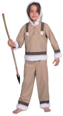 Eskimo Junge : Oberteil und Hose - 1