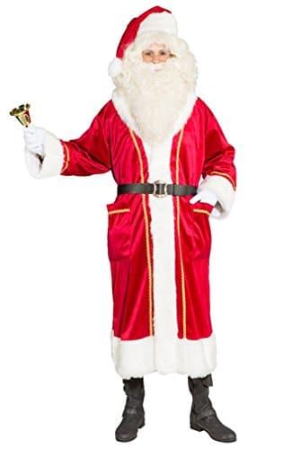 Exklusiver Weihnachtsmannmantel als Verkleidung - 1