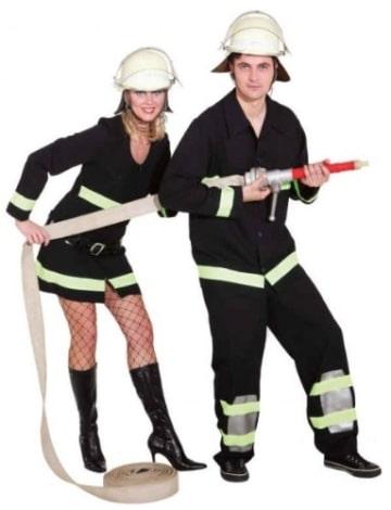Feuerwehr Frau : Kleid und Gürtel - 1