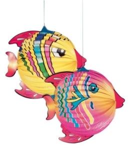 Fisch-Lampion sortiert, 30 – 42 cm - 1