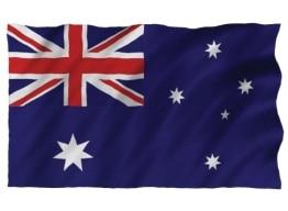Flagge: Fahne von Australien, Polyester mit Metallösen, 150 x 90 cm - 1