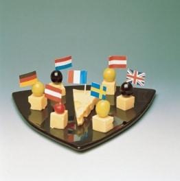 Flaggen-Picker: Mix mit verschiedenen Flaggen, 500er-Pack - 1